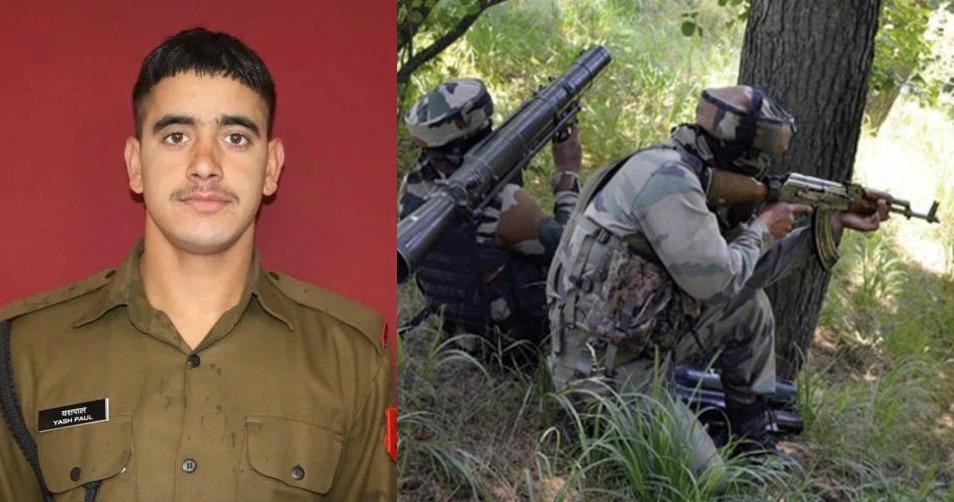 पाकिस्तान की गोलाबारी में एक जवान शहीद, सेना ने किये तीन आतंकी ढेर