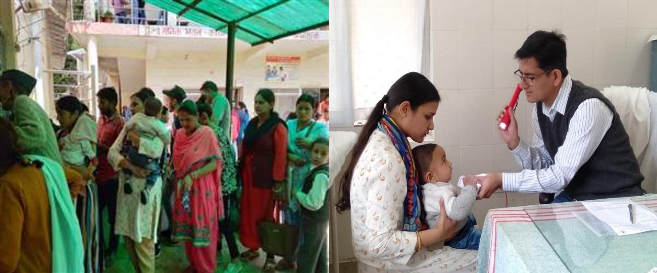उत्तराखंड : आम लाइन में खड़े होकर बच्चे का इलाज कराया DM की पत्नी ने, सादगी बनी उदाहरण