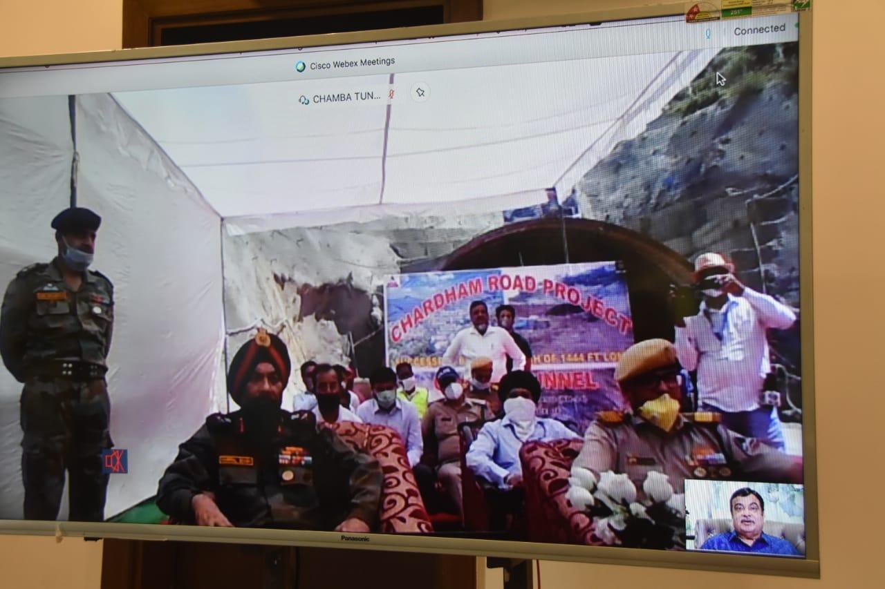 Uttarakhand यहां शहर के नीचे BRO ने खोद दी 440 मीटर लंबी सुरंग, केन्द्रीय मंत्री भी देखकर हुये हैरान