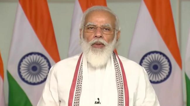 प्रधानमंत्री मोदी बोले देश में भ्रष्टाचार का वंशवाद बड़ी चुनौती, बोले देश घोटालों वाले दौर को पीछे छोड़ चुका