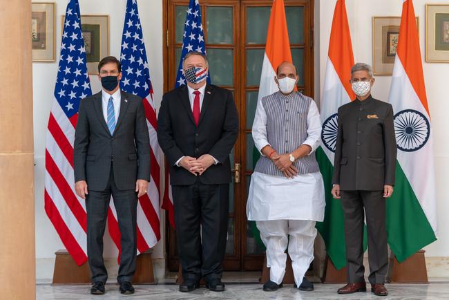 भारत-अमेरिका के बीच हुआ ऐतिहासिक BECA समझौता, चीन को भी मिला कड़ा संदेश