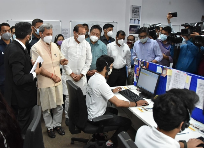 Uttarakhand बुजुर्गों के लिए नेशनल हेल्पलाइन शुरू, देहरादून में एक कार्यक्रम में मुख्यमंत्री ने की शुरुआत