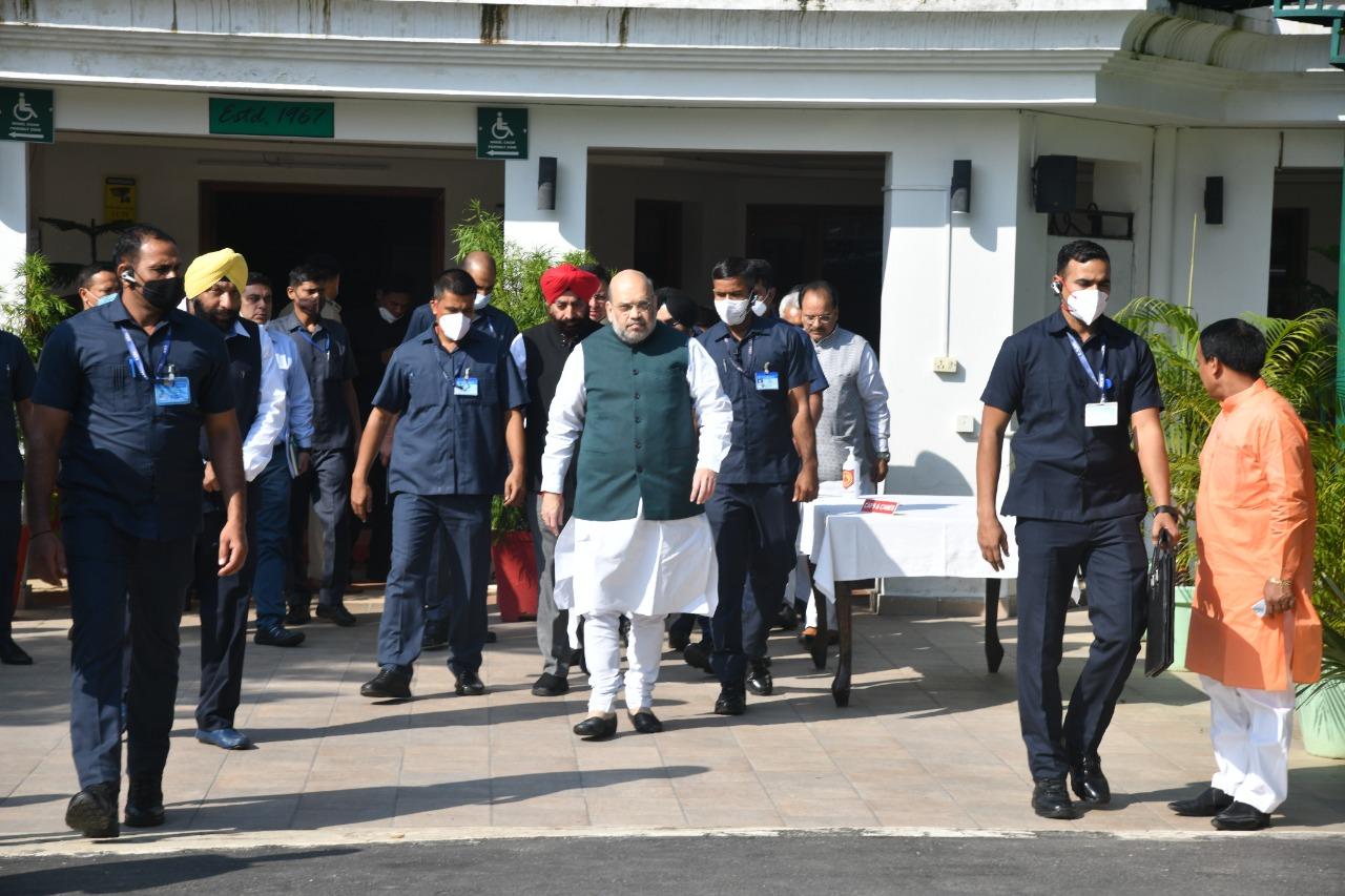 Uttarakhand केन्द्रीय गृहमंत्री अमित शाह ने किया आपदा प्रभावित क्षेत्रों का सर्वेक्षण और समीक्षा बैठक, कहा भारत सरकार देवभूमि के लोगों के साथ